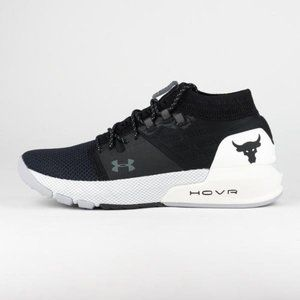 Under Armour Project Rock 2 trainers women blk 6.5
